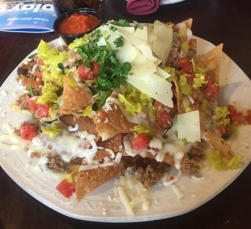 Keystone, CO: The nachos appetizer - so yummy!