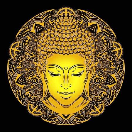 Biel, Schweiz: Buddha Logo