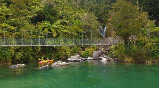 Abel Tasman National Park, New Zealand: Kayaking in Falls River on a high tide is always a highlight.