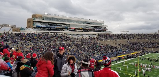 Notre Dame Stadium: South stands