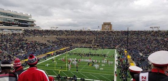 Notre Dame Stadium: Touchdown Jesus