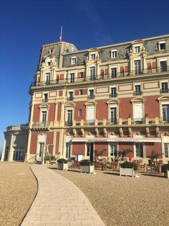 H tel du palais biarritz voir les tarifs 710 avis et - Prix chambre hotel du palais biarritz ...