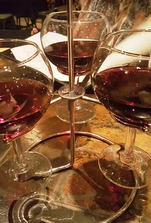 The Pollard: Most impressive presentation of a wine flight I've seen in years (pinot noir)