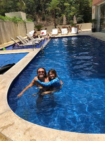 SPA Granja Brasil Resort: Piscinas (externa e interna) do Hotel Granja Brasil SPA