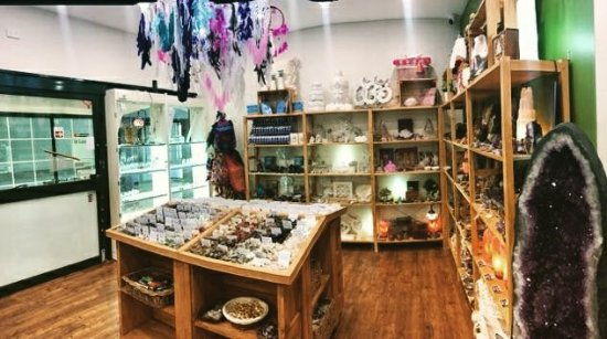 Camden, Australie : The Crystal Shop