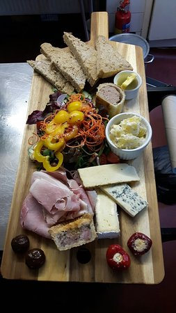 Herefordshire, UK: Sharing platter