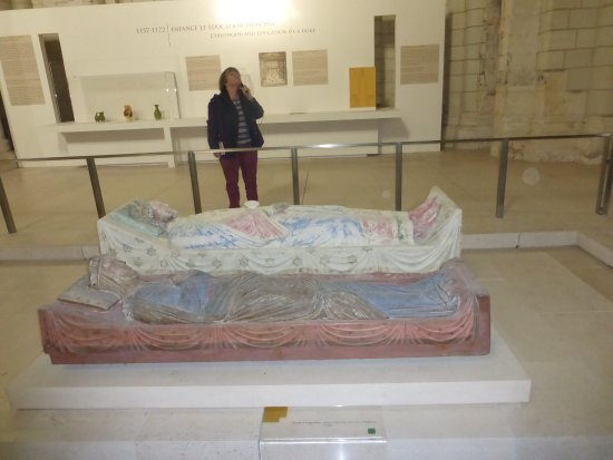 Fontevraud-l'Abbaye, Frankrike: Richard the Lionheart and Eleanor of Aquitaine