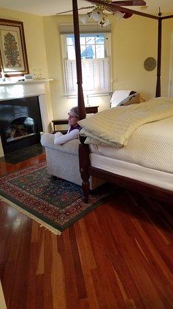 Foxfield Inn: The deluxe Garden Room