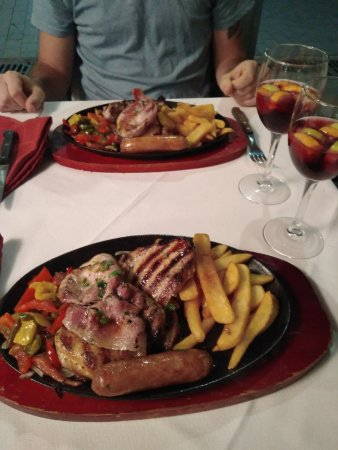 Aberdeen Steak House: Mixed grilled meat