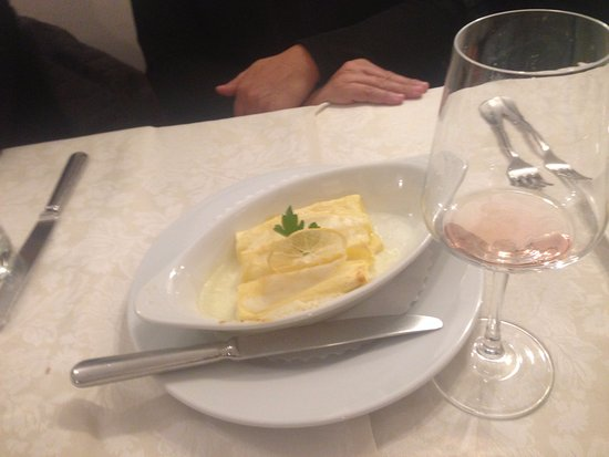 Trattoria Pallotta: Canelones de/com limão
