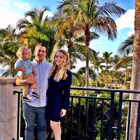 The Ritz-Carlton, Sarasota: This was right before dinner on the deck