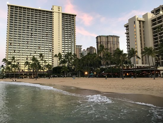 Hilton Hawaiian Village Waikiki Beach Resort: If you have time get up early one morning and walk around the lagoon and beach. It's beautiful!