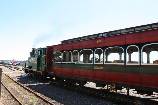 Strahan, Austrália: old time train travel