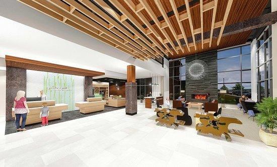 Wausau, Висконсин: Hotel Lobby