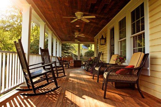Orange, فيرجينيا: Porch