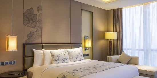 Weifang, China: Guest Room