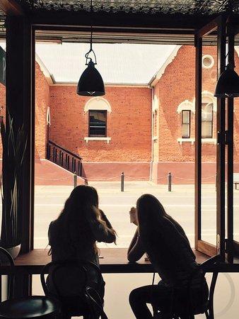 enjoy our window seating