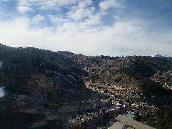 Ameristar Casino Resort Spa Black Hawk: View from rooftop patio