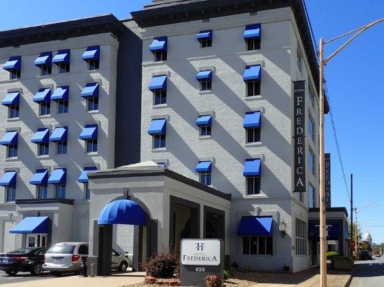 Hotel Frederica: Hotel exterior