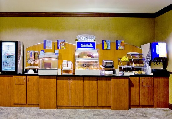 Holiday Inn Express Hotel & Suites Lake Placid: Breakfast Bar
