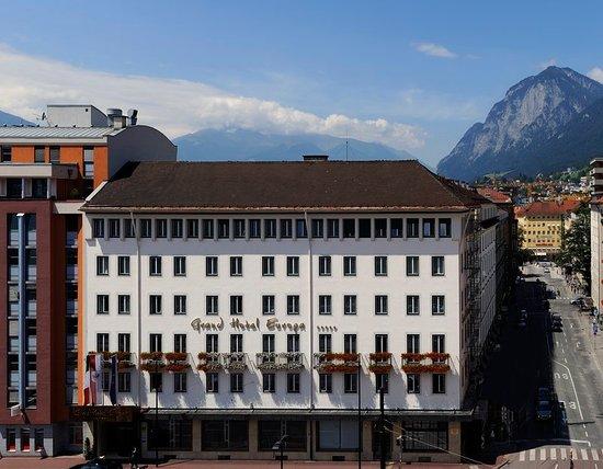 Grand Hotel Europa : Aussenansicht