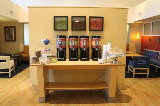 Salida, Kalifornien: Free coffee