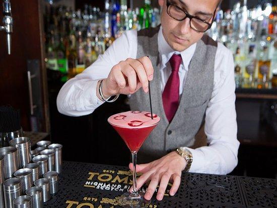Glenmoriston Town House: Pink Cocktail