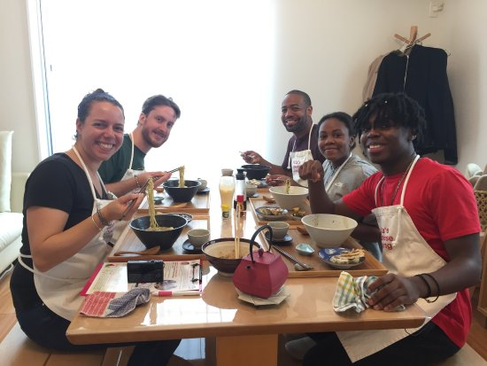 Arakawa, Japon : Delicious and fun cooking session