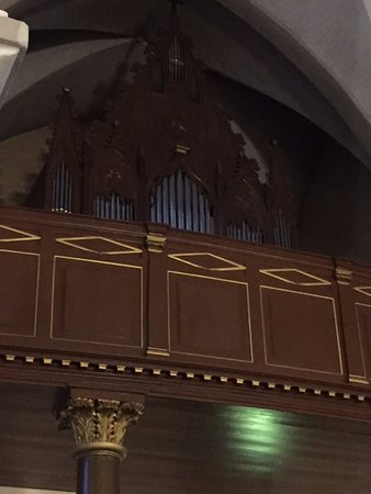 Organ And Loft Picture Of Catholic Cathedral Of St Peter St Paul Tallinn Tripadvisor