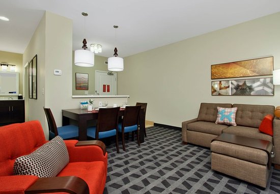 McKinney, TX: Two-Bedroom Suite - Living Area