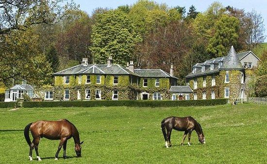 Blairgowrie, UK: Kinloch House Exterior