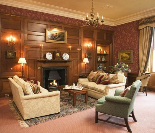 Blairgowrie, UK: Kinloch House Lounge