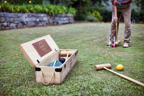 Ceylon Tea Trails: Croquet At Tientsuin Bungalow