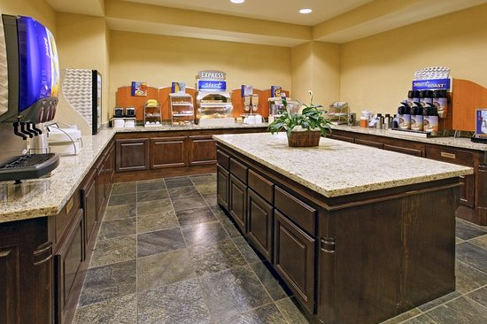 Holiday Inn Express Hotel & Suites Weatherford: Weatherford Hotel Breakfast Bar