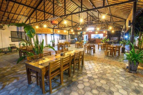 Mudra Angkor Restaurant: Good Ambient