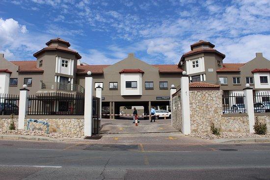Randburg, Südafrika: Hotel Entrance