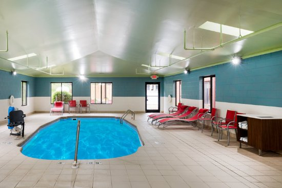 Hang out at our pool at the Holiday Inn Express Hillsville