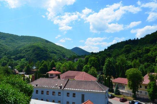 Sklene Teplice Thermal Spa: Вид  на комплекс