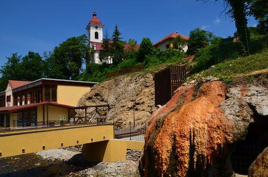 Sklene Teplice Thermal Spa: Вид на Собор
