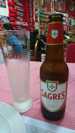 O SANTOS - Comida Portuguesa Restaurant : ポルトガルビール サグレス