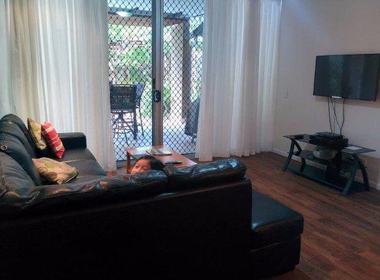 Mudjimba, Australien: Living room