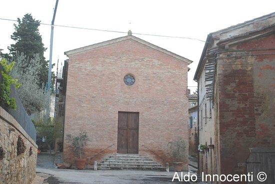 San Giovanni d'Asso, Italien: Chiesa di San Lorenzo a Monterongriffoli