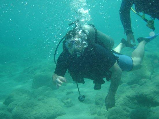 European Diving Centre: Really enjoyed breathing underwater