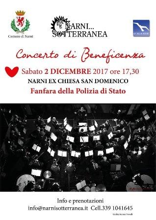 Нарни, Италия: Concerto di Beneficenza Sabato 2 Dicembre