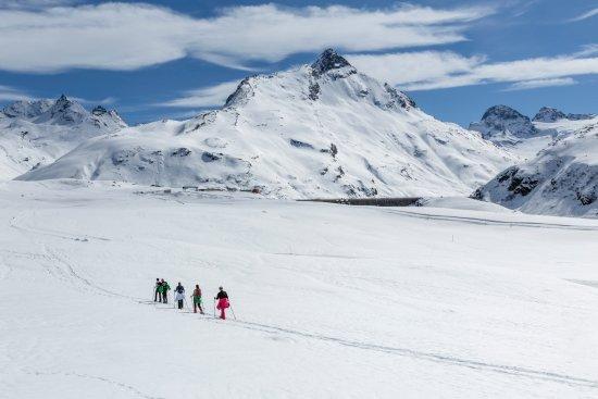 Schneeschuhwanderung zum Silvrettasee