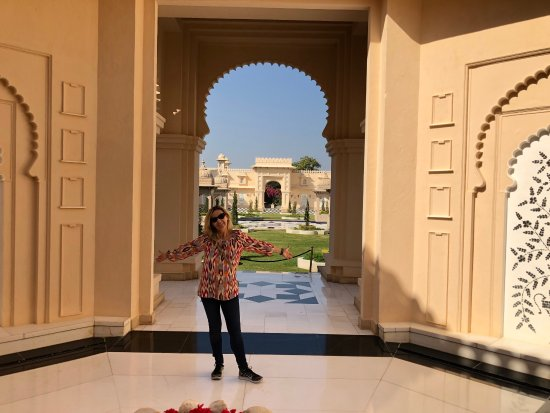 The Oberoi Udaivilas: Wonderful hotel