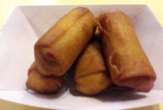 Morton Grove, IL: jalapeno poppers - looks like egg rolls, but not!