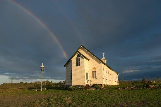 Ravenswood, أستراليا: old church