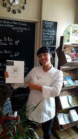 Haute-Loire, Francja: Votre Chef Julie FAVERJON