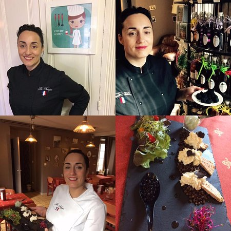 Haute-Loire, Γαλλία: Votre Chef Julie FAVERJON